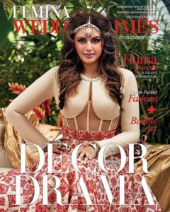 Huma Qureshi Graces the July 2018 Cover of Femina Wedding Times