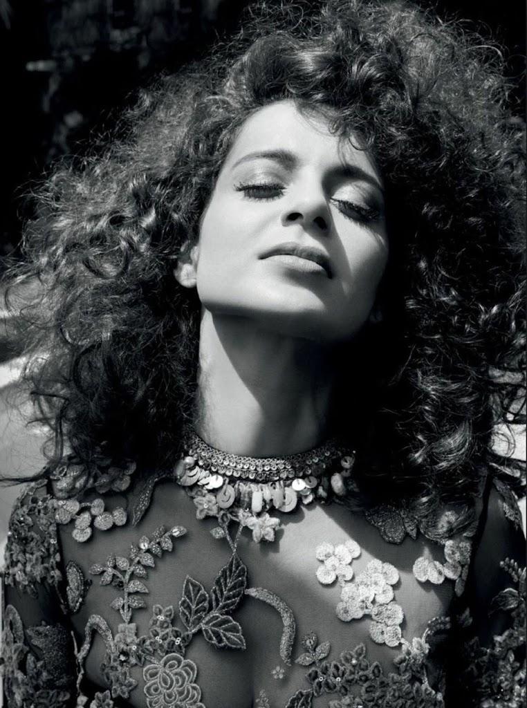Kangana Ranaut Sizzles on the June 2018 Issue of Harper's Bazaar